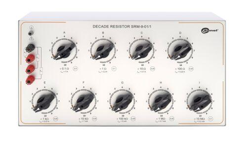 Sonel SRM-9 Series Manual Decade Resistor 0.1 Ω to 111 111 111 MΩ