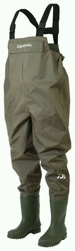 Diawa chest waders size 7 to 8