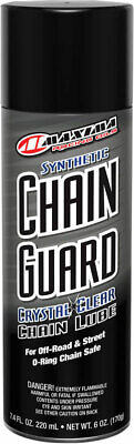 Maxima Racing Oil Synthetic Chain Guard Motorcycle Chain Lube | 6 oz | (Maxima Chain Guard)