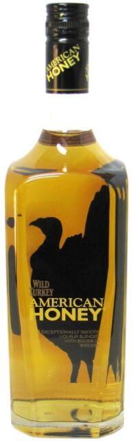 Wild Turkey American Honey 1.0l - 35.5% vol.Whisky Likör