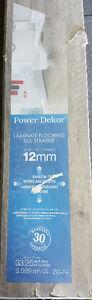 Power Dekor Laminate Flooring 4 boxes of 33.25 sq. 133 total +