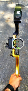 Conquest APEX Compound Bow - Mathews.  Blk & yellow - Right Hand Cambridge Kitchener Area image 5