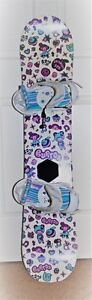 Burton Chicklet 126 Snowboard and Freestyle Jr. Bindings