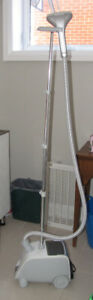 BIONAIRE Home Steamer with Hanging Pole