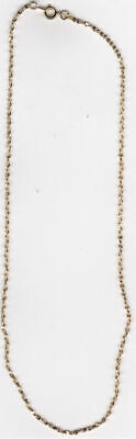 WHOLESALE LOT OF 25 14kt GOLD PLATED 30 INCH 2mm TWISTED NUGGET CHAINS ()