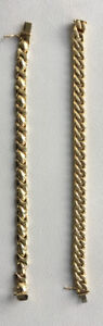14K GOLD BRACELET AND PENDANT