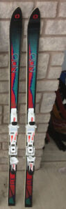 Olin Skis (165) & Nordica Ski boots (size 6-7) Package
