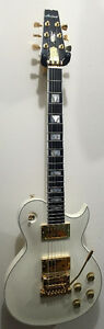 Aria PE-Supra, W/ Kahler Trem, & Deluxe Case *New, Clearance