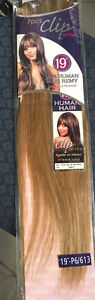 100% Human Hair 7pc 18 inch clip on hair extensions Kitchener / Waterloo Kitchener Area image 5