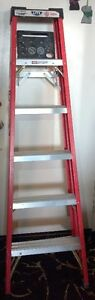 LITE Six-Foot Fibreglass Ladder with Work Tray