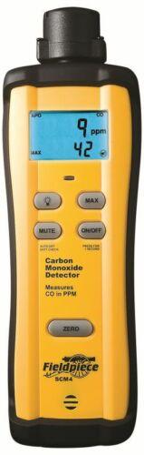 Fieldpiece SCM4 Carbon Monoxide (CO) Detector -- 0 to 1000 PPM