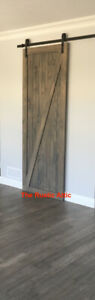 Custom Sliding Barn Doors Rustic Hardware Bypass Softclose