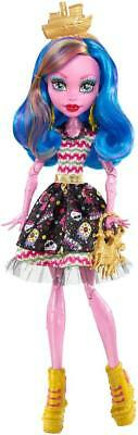 Monster High Shriekwrecked Gooliope Jellington Fashion Doll - Blue