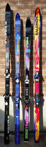 Selling 4 Pairs of Skis