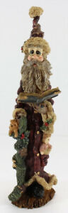 """Boyds Bears Folkstone Collection """"NICOLAS With Book Of Lists"""""""