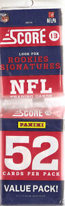 2013 Score Football Value Pack (52 cards)