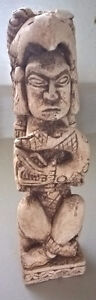 Vintage Stone Carved Totem Pole