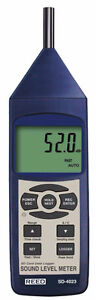 Reed SD-4023 Sound Level Meter Sound Pressure Tester Data Logger