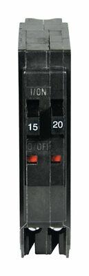 Schneider Electric  QO  20 amps Tandem  Single Pole  Miniature Circuit Breaker