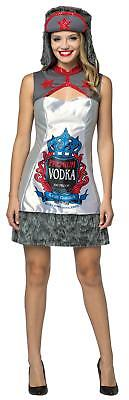 ADULT RUSSIAN VODKA ALCOHOL DRINKING PARTY COSTUME DRESS GC7599](Halloween Drinks Alcohol Party)
