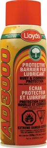 Lloyds undercoating lubricant & anti-corrosion barrier film