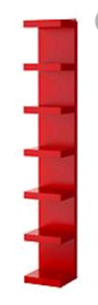 Kallax 8 cube and lack shelving unit