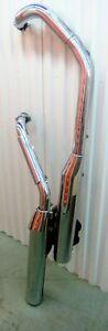 Exhaust Mufflers for Honda VTX 1800  +  Kuryakyn airbox