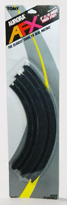 "Tomy Aurora AFX #8623 9"" (1/4) Curve Track (Pair) New Sealed"