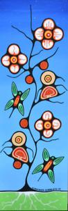 Original Woodland Style Paintings -  Native Art - Brent Hardisty