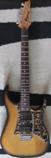 IBANEZ STRAT STYLE SOLID BODY ELECTRIC GUITAR 24 FRET JAPANESE