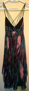 NEW! FREE PEOPLE Multi-Tiered Dress, S