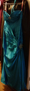 Designer Prom Dress - Sleveless Size 2
