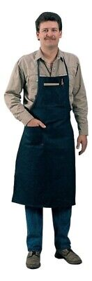Tillman 6236bd Blue Cotton Shop Apron - 24 X 38