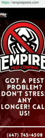 MOUSE? ROACH? BED BUG? PEST CONTROL EXTERMINATOR