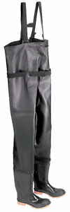 NEW Onguard Chest Waders - Black Size 7 -Plain Toe w Steel Shank