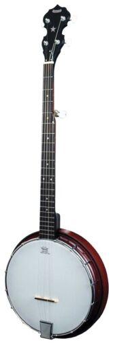 New MORGAN MONROE RT-B01L Left Handed 5-String Composite Back Resonator Banjo