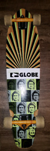 GLOBE LONG BOARD with Trucks (like new)  excellent new condition