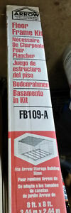 Steel Shed Floor Kit - NEW