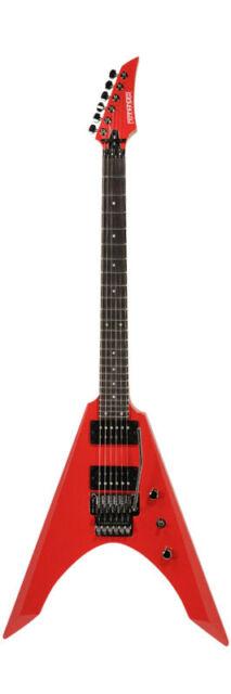FERNANDES Vortex Standard JAPAN CRIMSON RED electric guitar E-Gitarre *B-WARE*