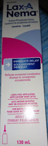 Sterile sealed boxes of disposable fleet enemas brand new in box