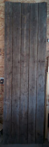 """2.5"""" x 5"""" tongue and groove barn wood (5 pieces @ 7' 5"""" long)"""