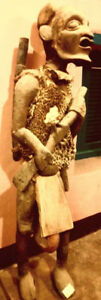 African wooden sculpture for sale