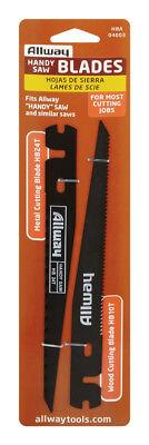 Allway Tools #HBA Handy Keyhole Saw Blades 2 pieces  (Handy Saw Blade)