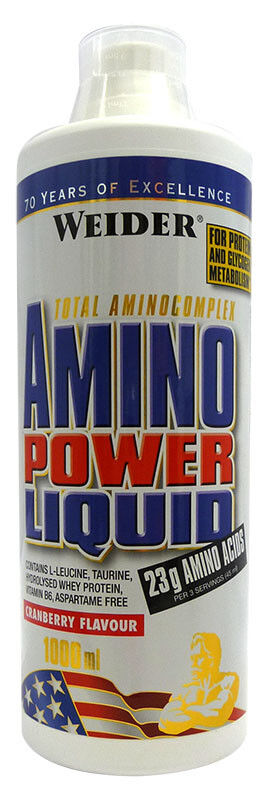 Weider Amino Power Liquid 1000ml amino acids post workout recovery