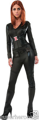 Weibliche Avengers Kostüme (The Avengers Age Of Ultron Schwarze Witwe Weibliche Kostüm Xs 0-2 Marvel 886334)