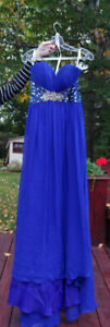 Robe de bal bleu royal / Royal blue Prom dress