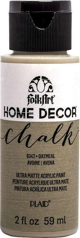 FolkArt Home Decor Chalk Paint 2oz Oatmeal 028995063428