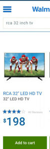 "NEW-32"" RCA LED HDTV"