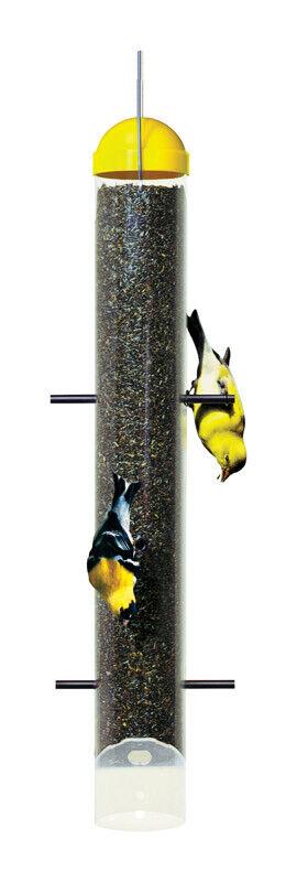 Perky-Pet  Finch  2 lb. Plastic  Bird Feeder  6 ports