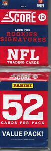 2013 Score Football Rack Pack   - 52 cards